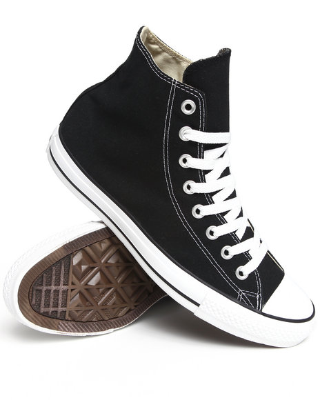 Converse - Men Black Chuck Taylor All Star Core Sneakers - $55.00