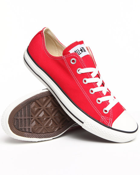Converse - Men Red Chuck Taylor All Star Core Sneakers