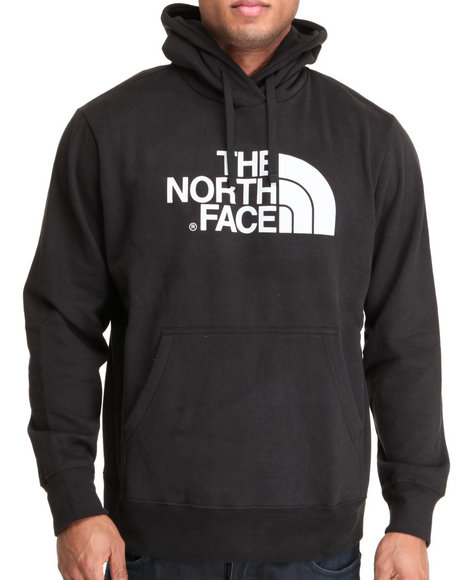 The North Face Men Black Half Dome Hoodie