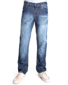 Basic Essentials - LaSalle Flapback Premium Denim Jeans
