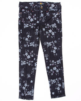 Lucky Brand - FLORAL PRINTED JEANS (7-16)