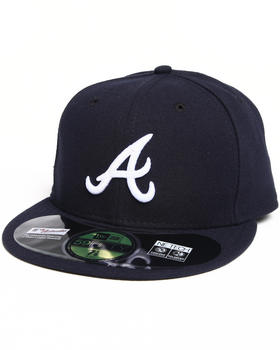 New Era - Atlanta Braves Road Authentic 5950 fitted hat