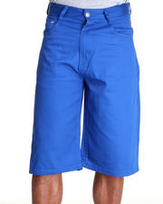 Men - Steady Color Twill Short