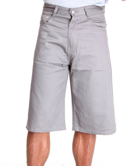 - Steady Color Twill Short