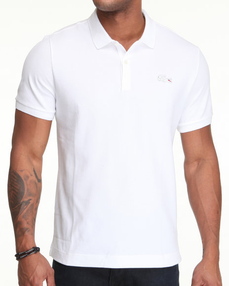 Lacoste Live White Polos