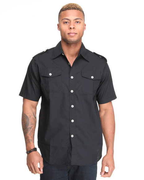 - Glory Solid Short Sleeve Shirt
