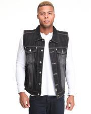 Men - Bobby Ray Washed Denim Vest