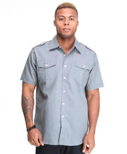 Men - Glory Solid Short Sleeve Shirt