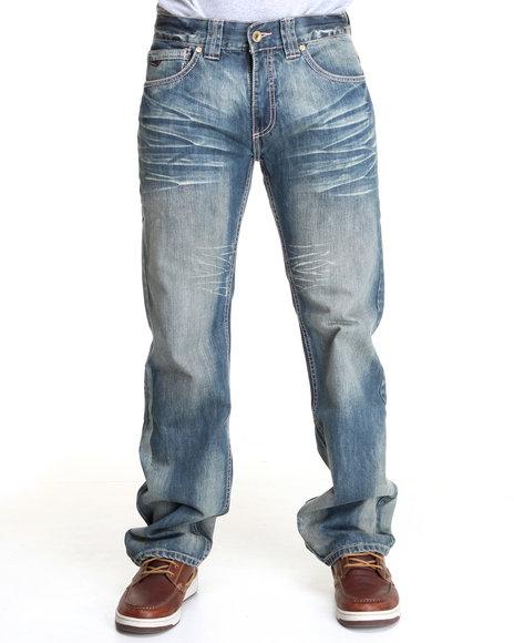 Pelle Pelle Men Medium Wash The Marc Buchanan Denim Jeans