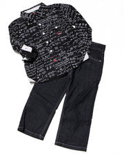 4-7x Little Boys - 2PC PANTS SET