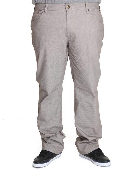 A Tiziano Men Brown Rick Straight Fit Denim Jeans (B&T)
