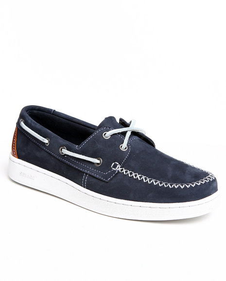 Sebago Men Navy Wentworth Boat Shoe
