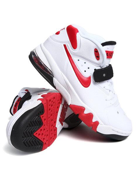 Nike Men White Air Force Max 2013 Sneakers