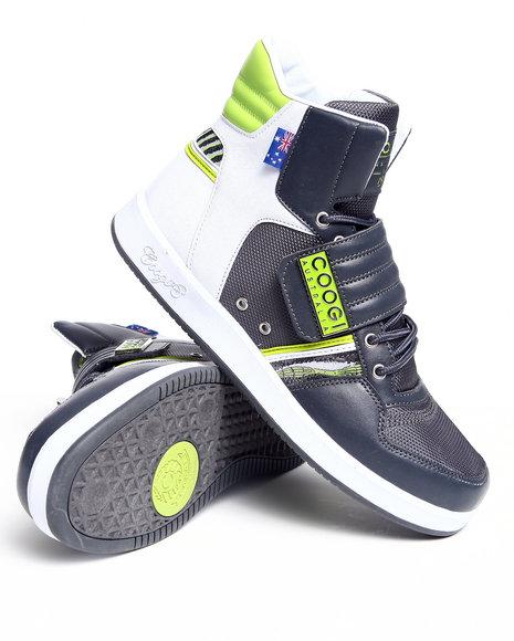COOGI Men Charcoal Monaco 2 Hightop Sneaker