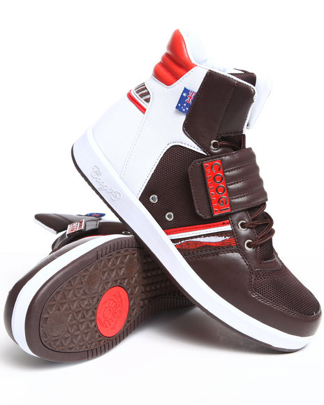 Coogi Men Brown Monaco 2 Hightop Sneaker