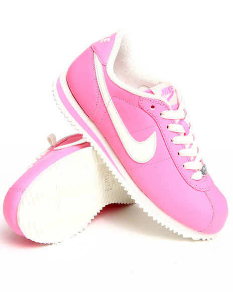 Nike Women Pink Wmns Cortez Leather Sneakers