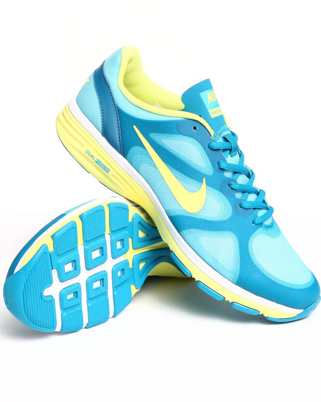 Nike Women Teal  Nike Dual Fusion Training Sneakers
