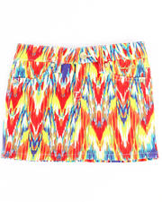 Bottoms - PRINTED TWILL SKIRT (4-6X)