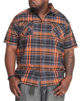 MO7 - Plaid Lumination S/S button down shirt