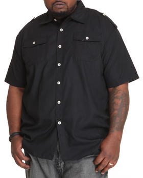Akademiks - Glory S/S Button Down Shirt (B&T)