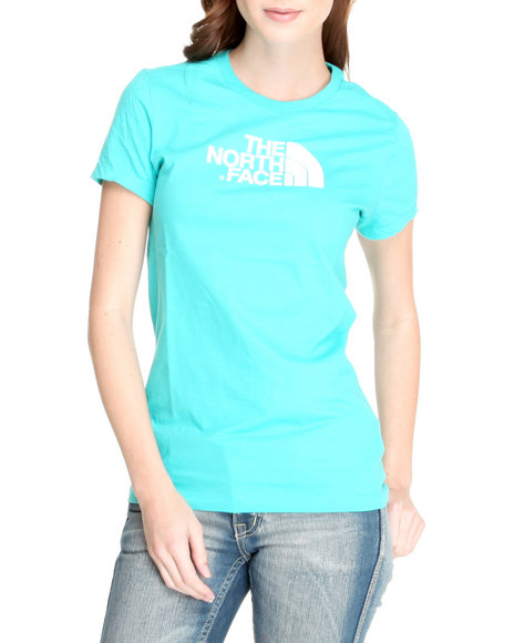 The North Face Women Blue Half Dome Tee