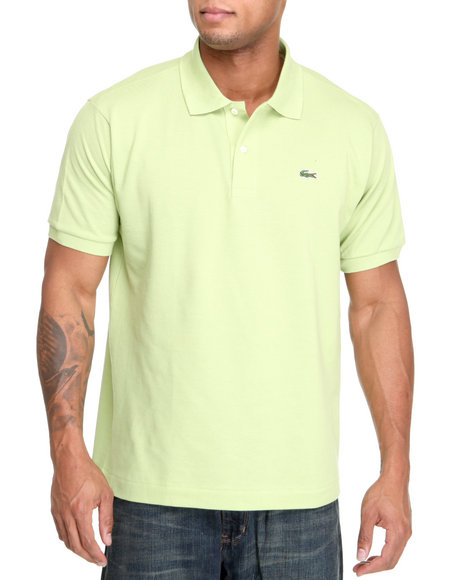 Lacoste - Men Lime Green S/S Classic Pique Polo