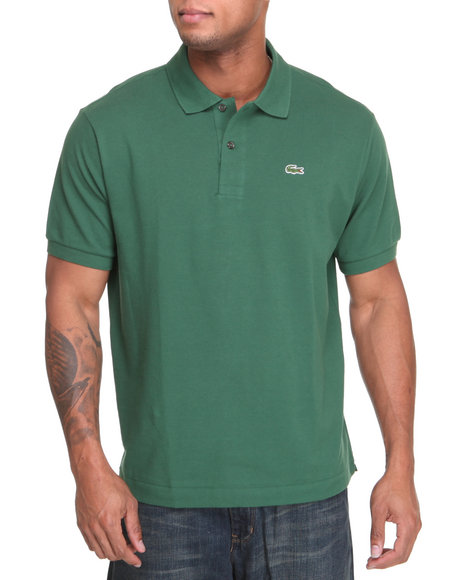 Lacoste - Men Forest Green S/S Classic Pique Polo
