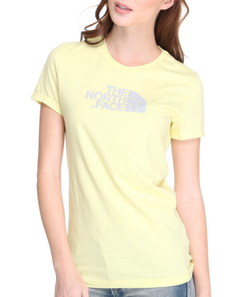 The North Face Women Yellow Half Dome Tee