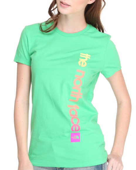 The North Face Women Green Catch Away Tee