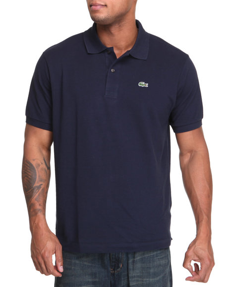 Lacoste Men Navy S/S Classic Pique Polo