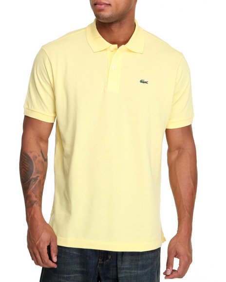 Lacoste - Men Yellow S/S Classic Pique Polo