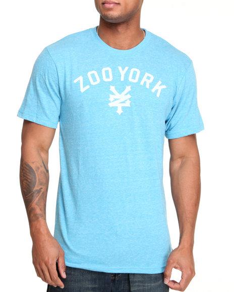 Zoo York Men Light Blue Immergruen Tee