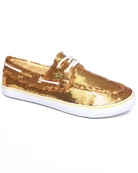 Apple Bottoms - Bonina Sequin Deck Sneaker