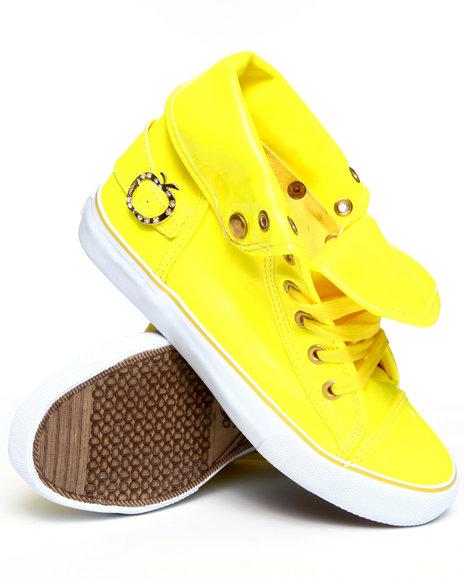 Apple Bottoms Women Yellow Elijah Sneaker