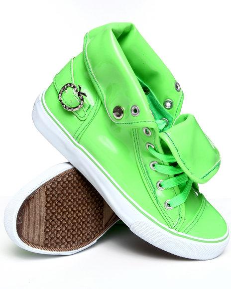 Apple Bottoms Women Green Elijah Sneaker