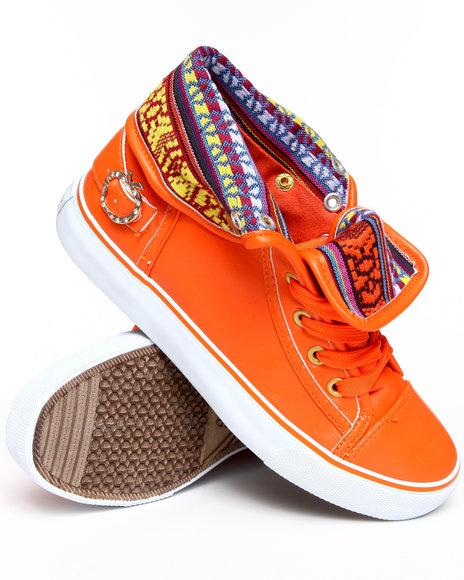 Apple Bottoms Women Orange Elois Sneaker