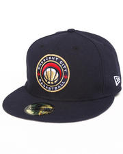 Fitted - New Orleans Crescent City Circle 5950 fitted Hat