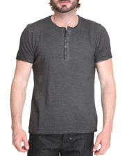 Men - S/S Henley tee
