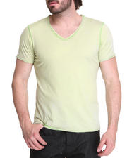 Shirts - Crystal wash v-neck shirt
