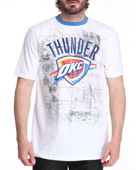 Nba, Mlb, Nfl Gear - Men  Oklahoma City Thunder Blueprint Tee