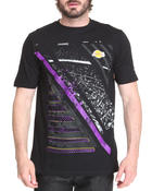Men - Los Angeles Lakers Geometric tee