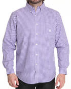 Chaps - Gullah Sea Gingham L/S button down shirt