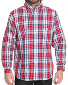 Chaps - Marina Plaid L/S Button down shirt