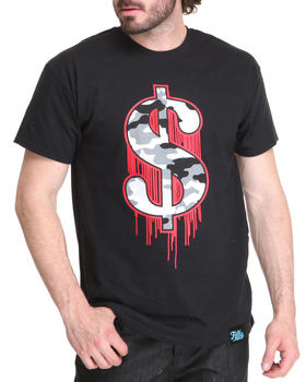 Filthy Dripped - Money Sign Camo T-Shirt