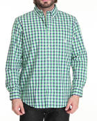 Men - Kiwah check L/S Button down shirt