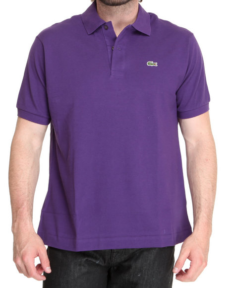Lacoste - Men Purple S/S Classic Pique Polo