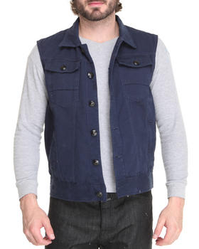 WT02 - Cotton Twill Vest