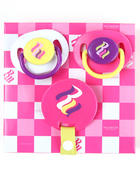 Rocawear - 3 PACK PACIFIERS (NEWBORN)