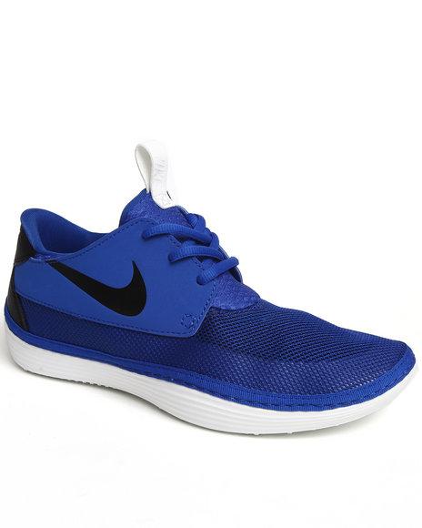 Nike Men Blue Solarsoft Moccasin