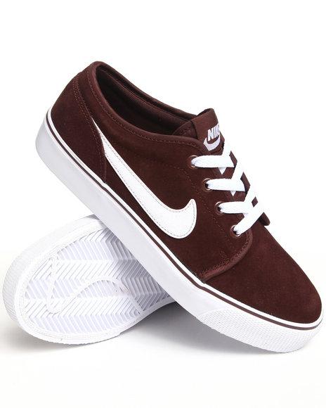 Nike Men Brown Toki Lthr Sneakers